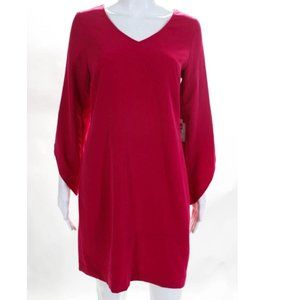 NWT - LAUNDRY Tulip Sleeve Fitted Dress
